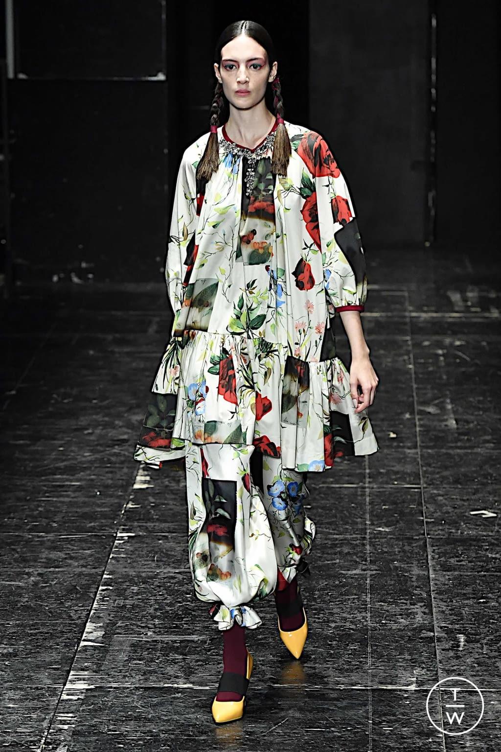 Fashion Week Milan Spring/Summer 2020 look 61 de la collection Antonio Marras womenswear