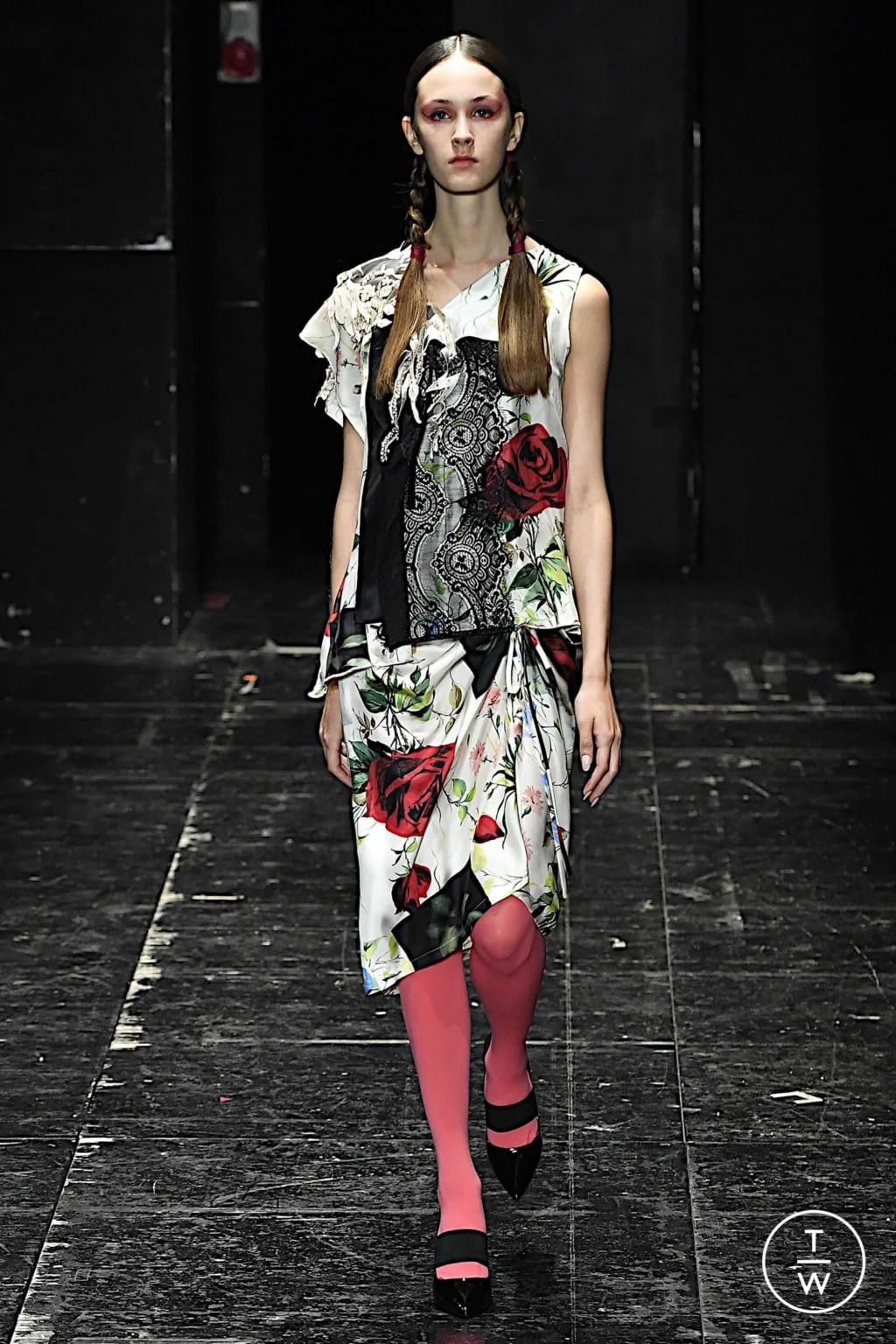 Fashion Week Milan Spring/Summer 2020 look 63 de la collection Antonio Marras womenswear