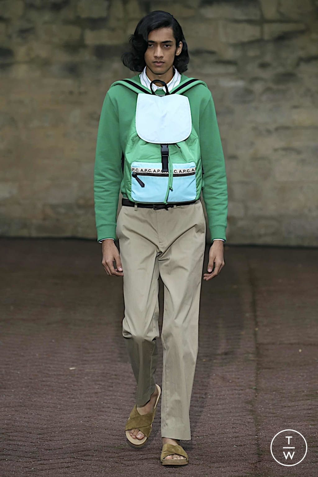 Fashion Week Paris Spring/Summer 2020 look 10 de la collection Apc womenswear