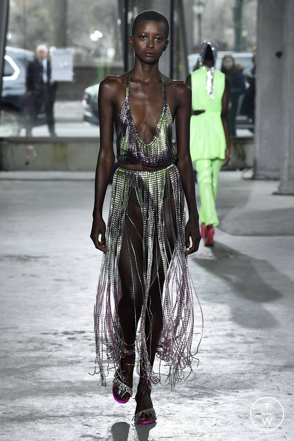 Fashion Week New York Fall/Winter 2020 look 5 de la collection Area womenswear