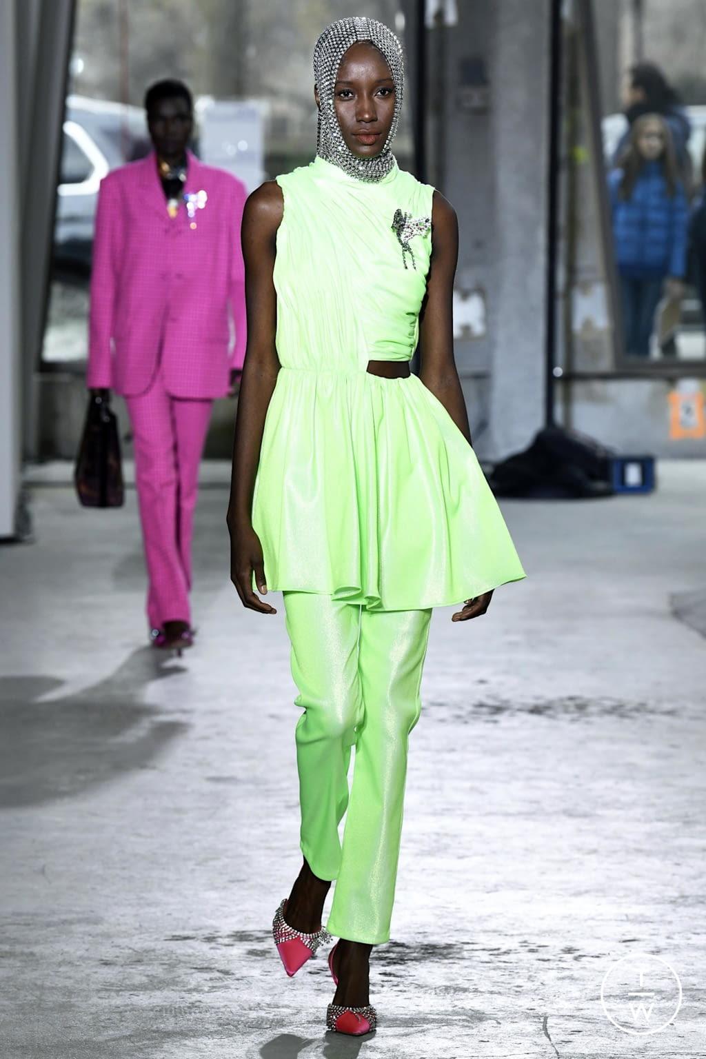 Fashion Week New York Fall/Winter 2020 look 6 de la collection Area womenswear