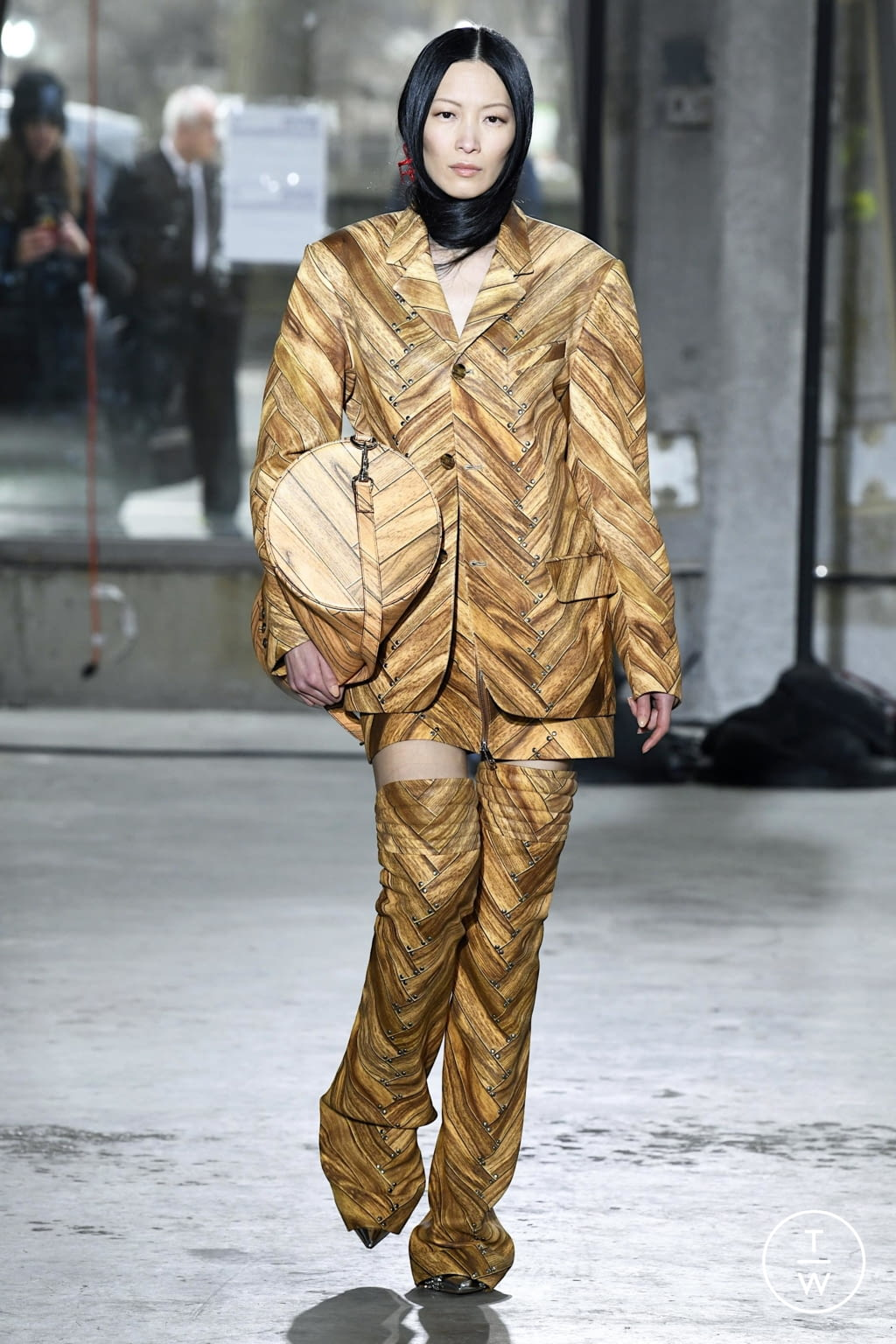 Fashion Week New York Fall/Winter 2020 look 12 from the Area collection womenswear