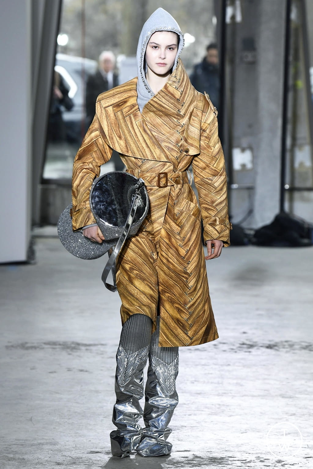 Fashion Week New York Fall/Winter 2020 look 13 de la collection Area womenswear