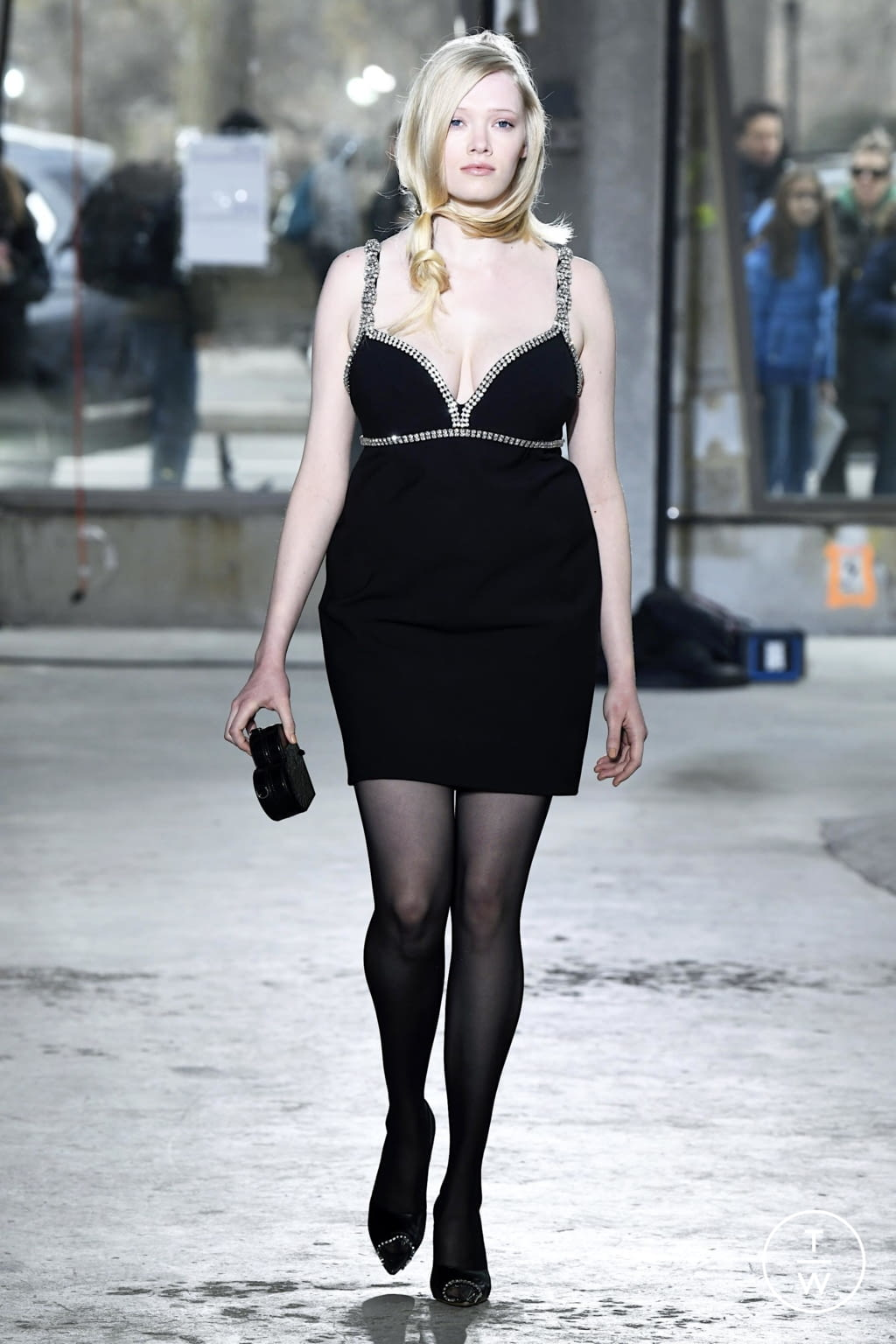 Fashion Week New York Fall/Winter 2020 look 24 from the Area collection 女装