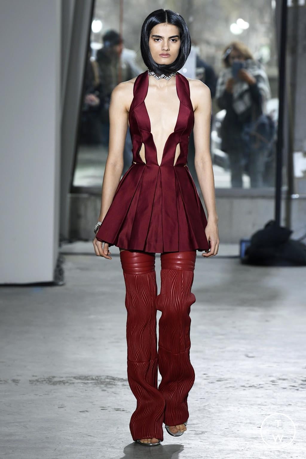 Fashion Week New York Fall/Winter 2020 look 32 de la collection Area womenswear