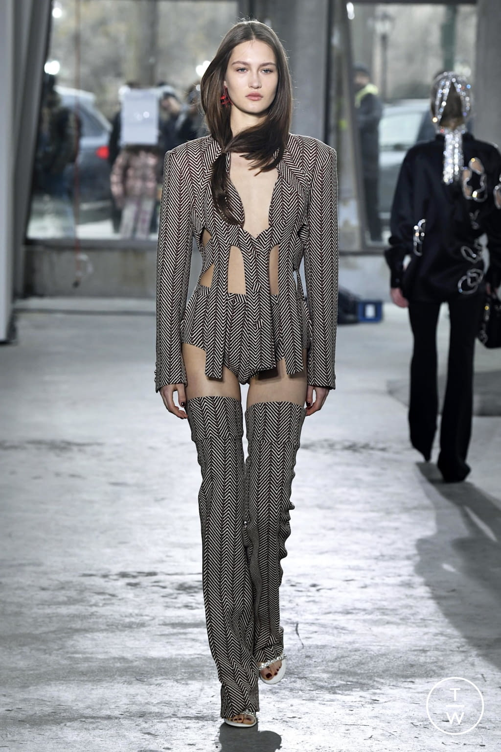 Fashion Week New York Fall/Winter 2020 look 35 de la collection Area womenswear