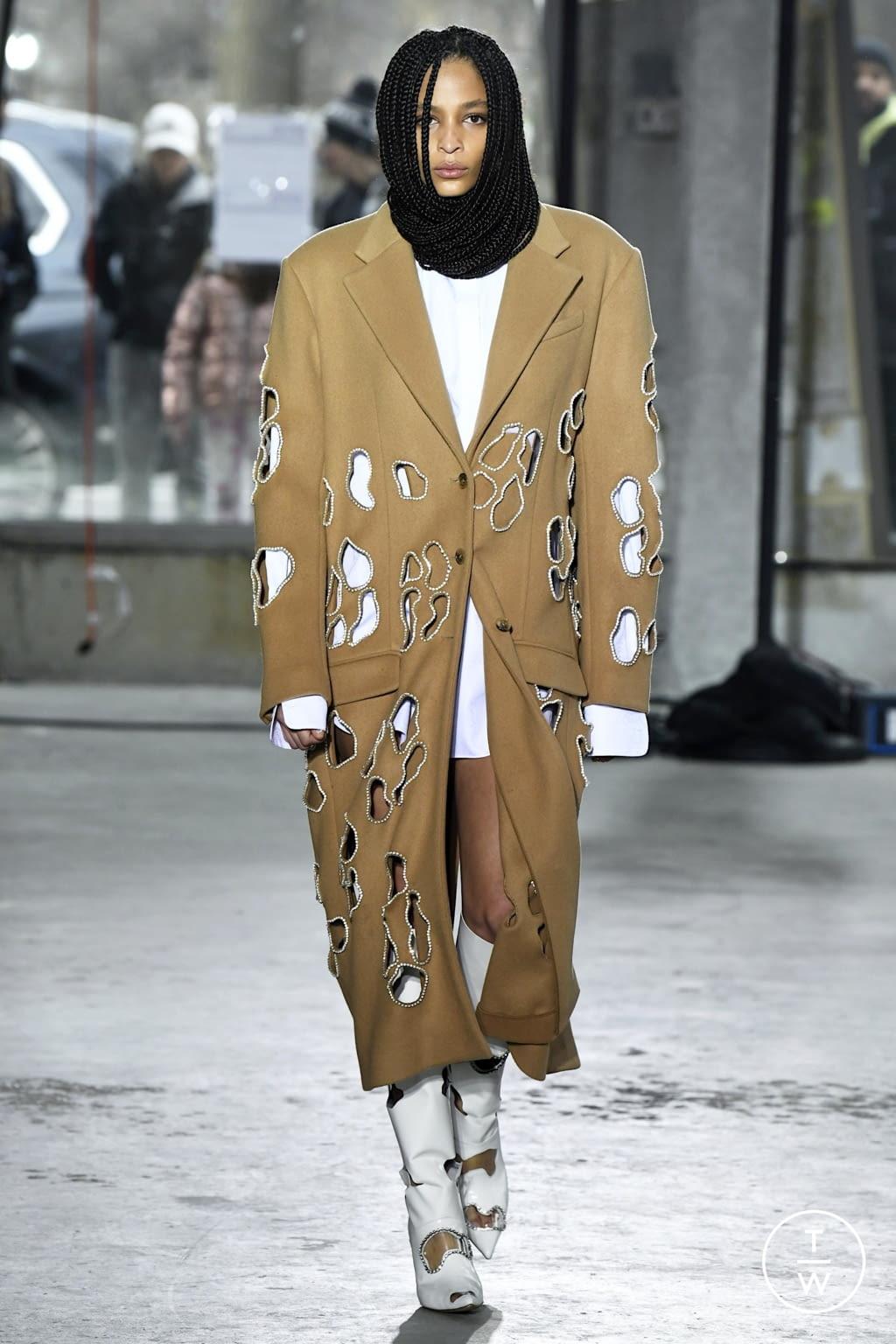 Fashion Week New York Fall/Winter 2020 look 37 de la collection Area womenswear