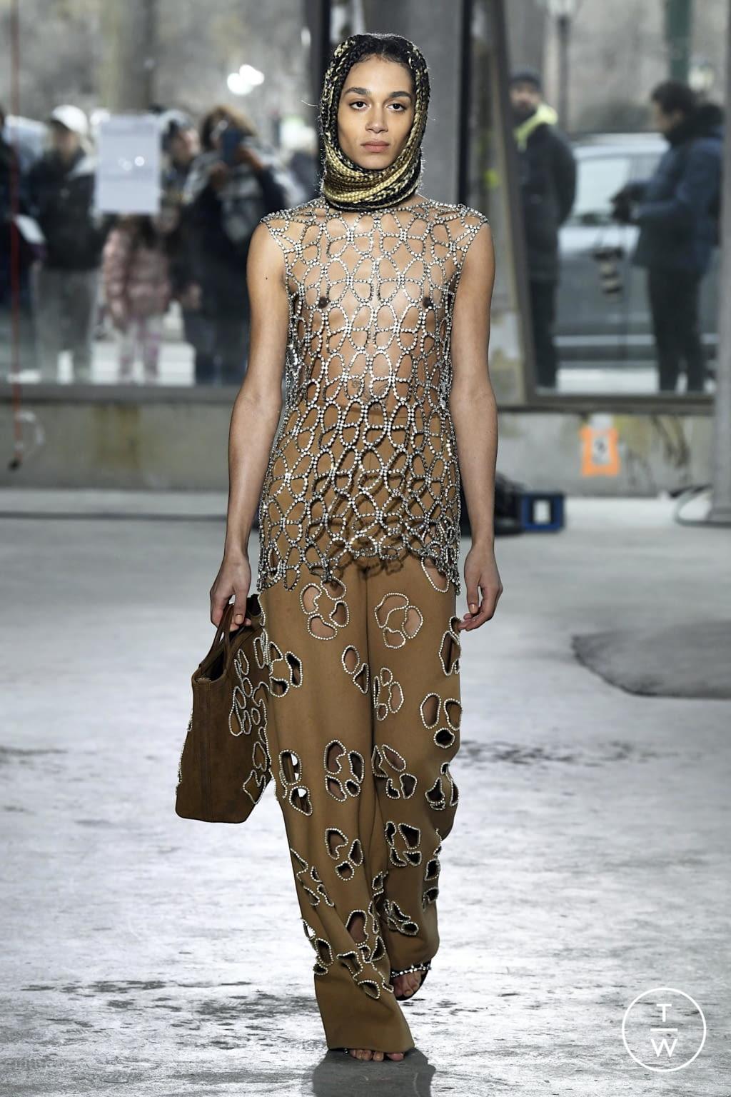 Fashion Week New York Fall/Winter 2020 look 39 de la collection Area womenswear