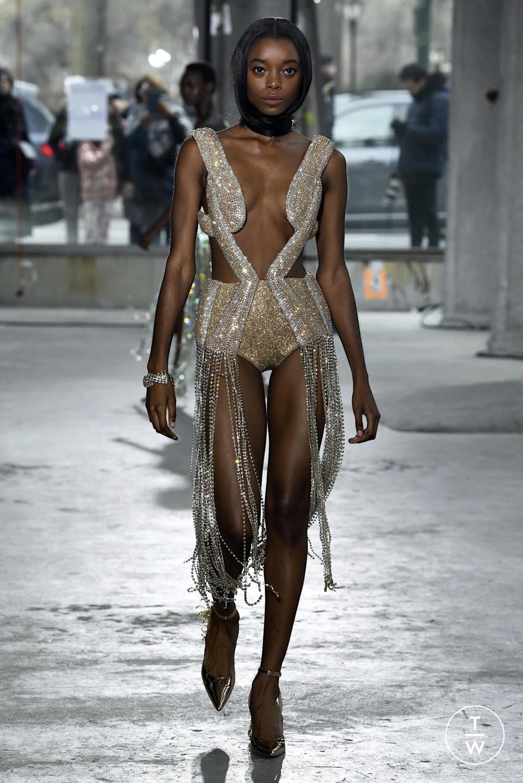 Fashion Week New York Fall/Winter 2020 look 40 de la collection Area womenswear