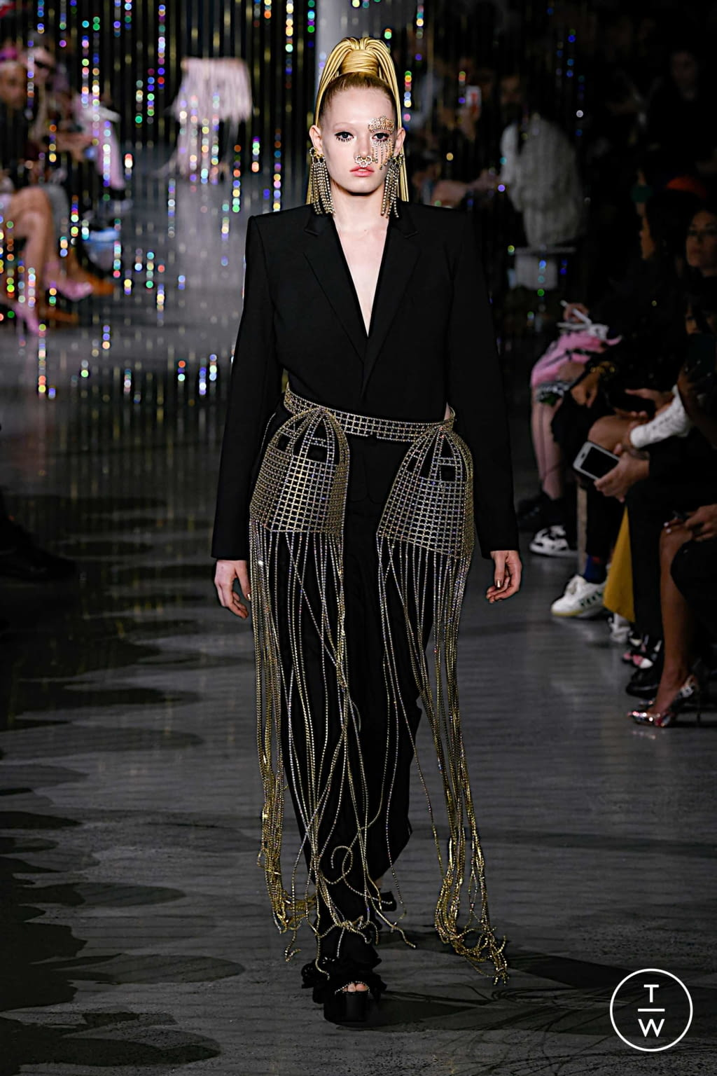 Fashion Week New York Spring/Summer 2020 look 30 from the Area collection 女装