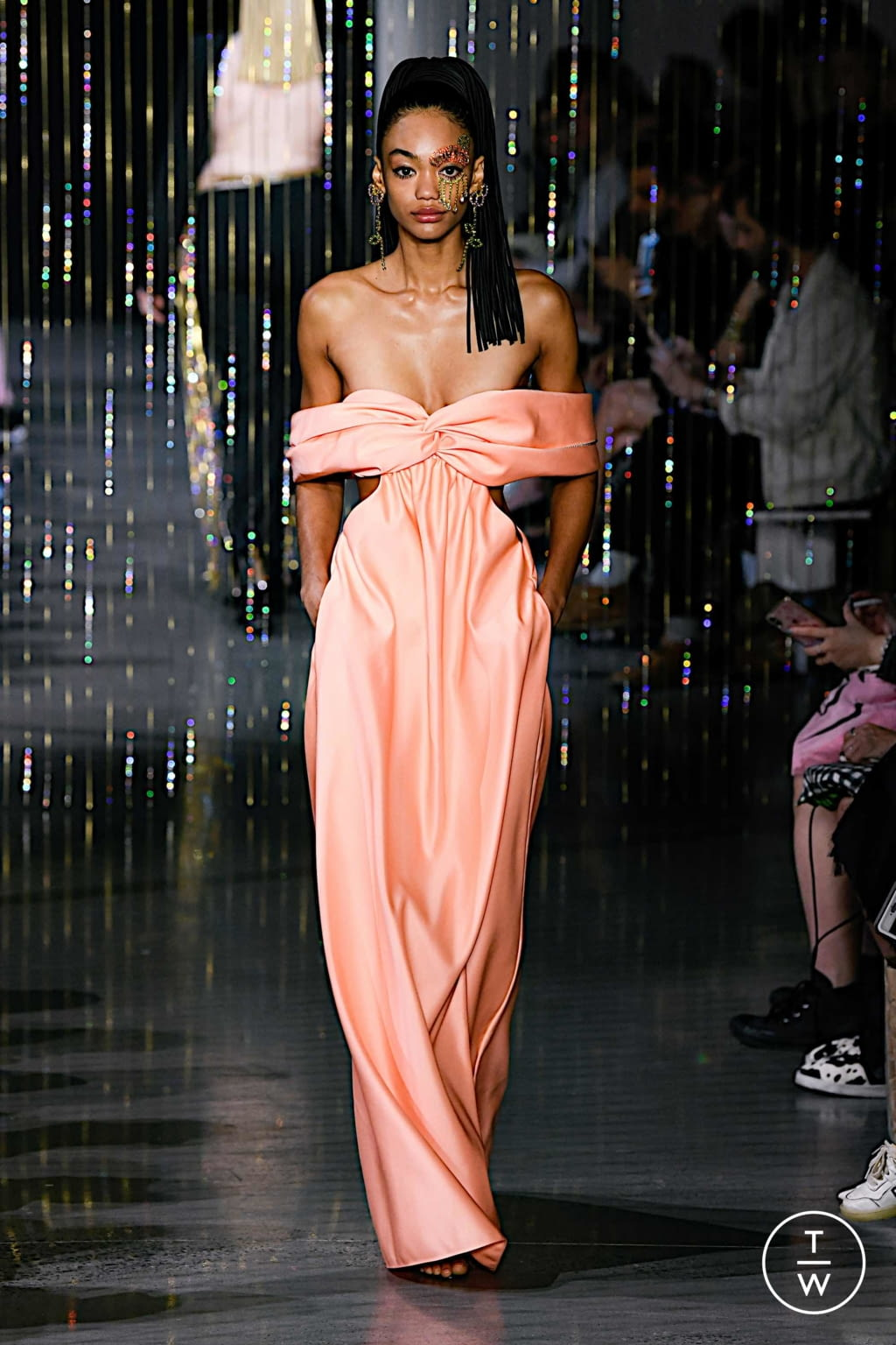 Fashion Week New York Spring/Summer 2020 look 32 from the Area collection 女装