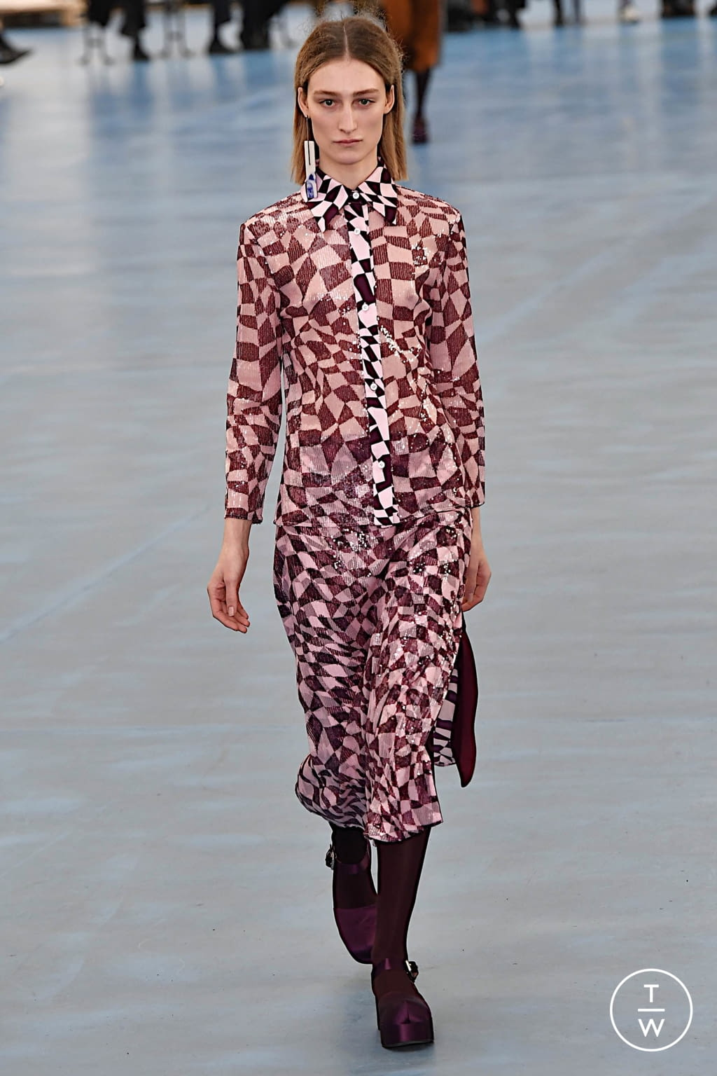 Fashion Week Milan Fall/Winter 2020 look 1 from the Arthur Arbesser collection womenswear