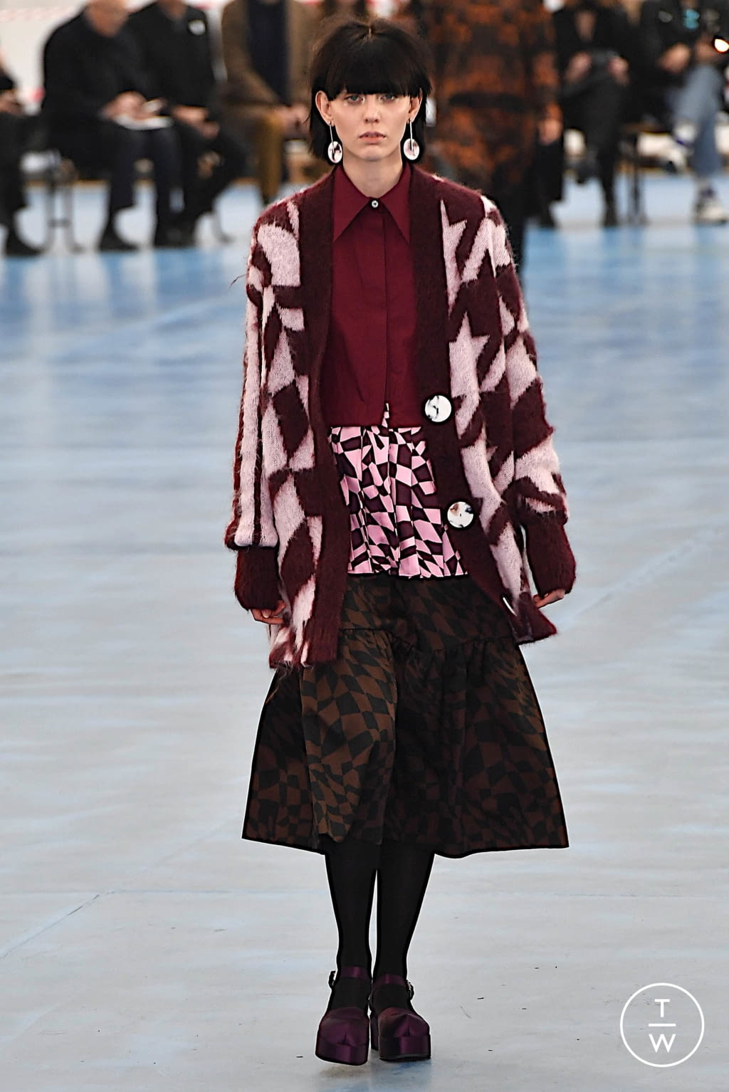 Fashion Week Milan Fall/Winter 2020 look 5 from the Arthur Arbesser collection womenswear