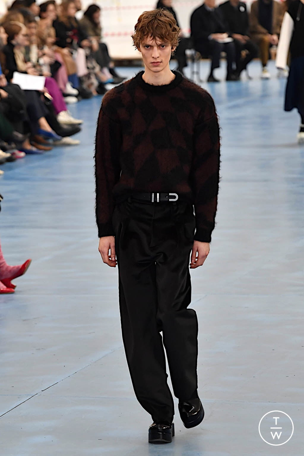 Fashion Week Milan Fall/Winter 2020 look 14 from the Arthur Arbesser collection womenswear
