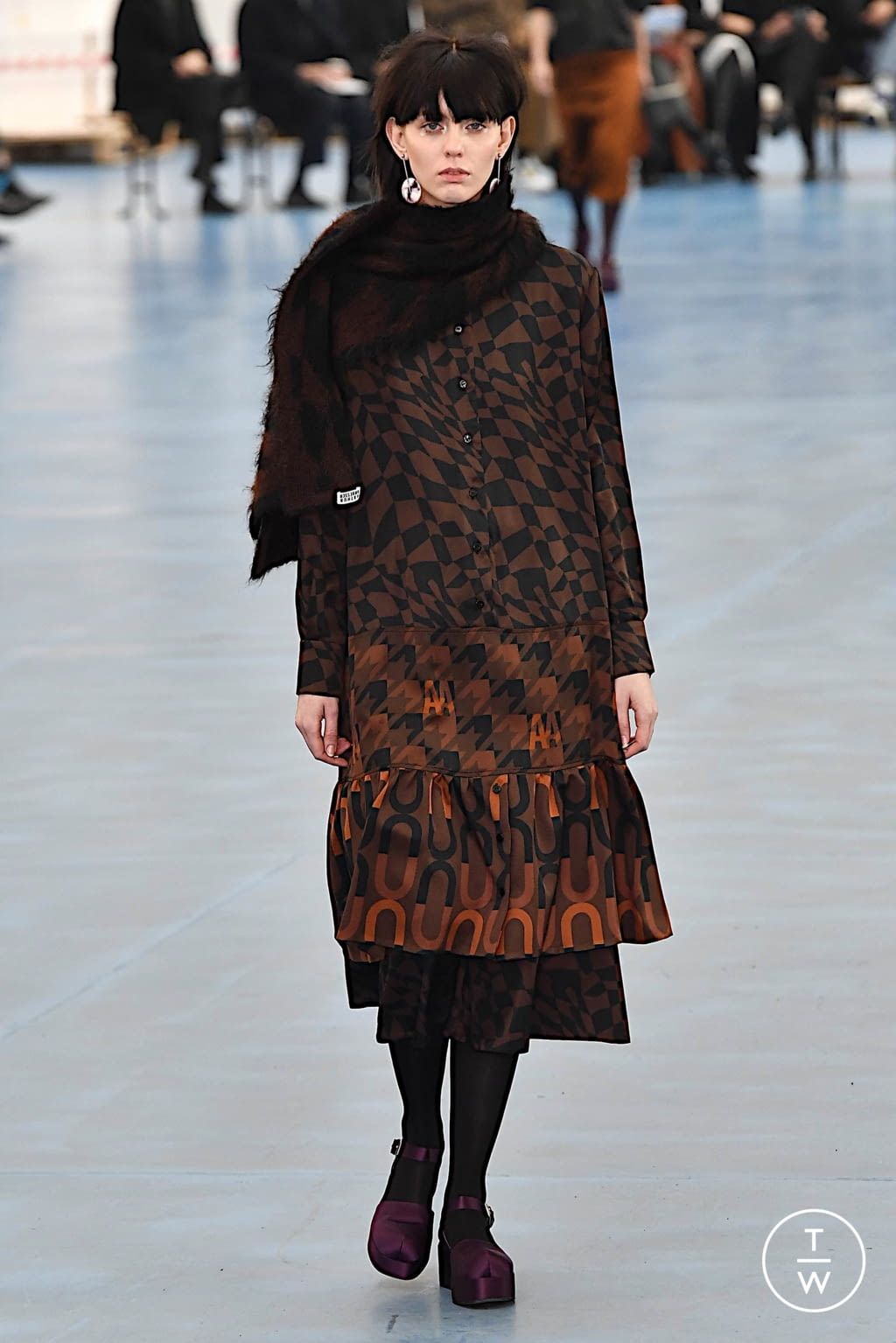 Fashion Week Milan Fall/Winter 2020 look 29 from the Arthur Arbesser collection womenswear