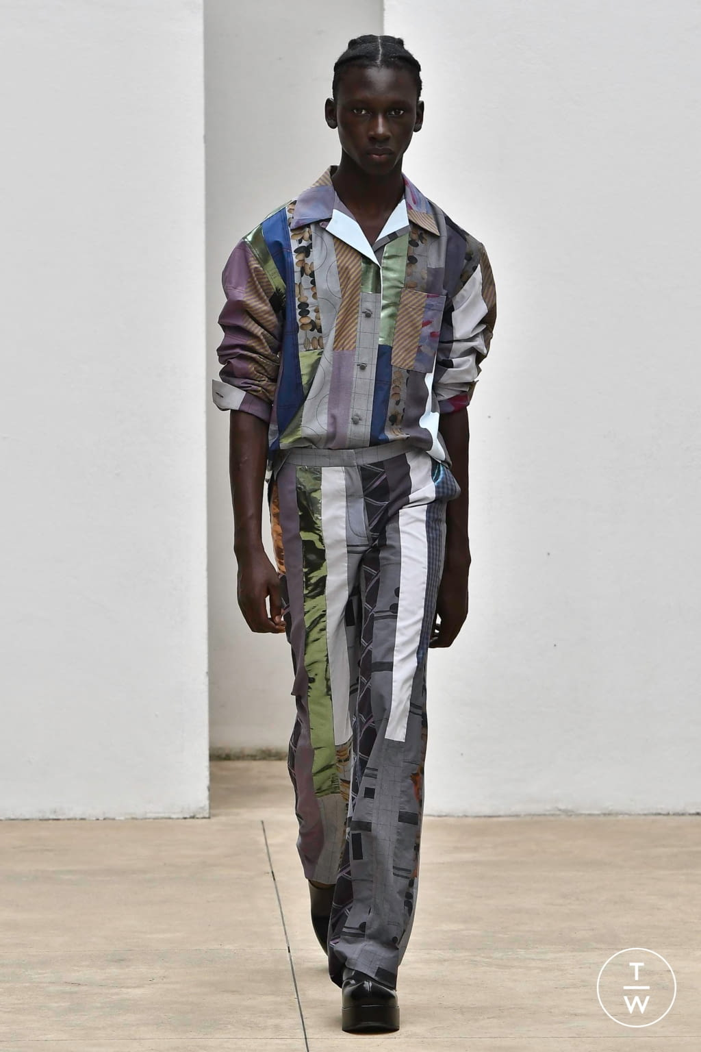 Fashion Week Milan Spring/Summer 2020 look 3 from the Arthur Arbesser collection 女装