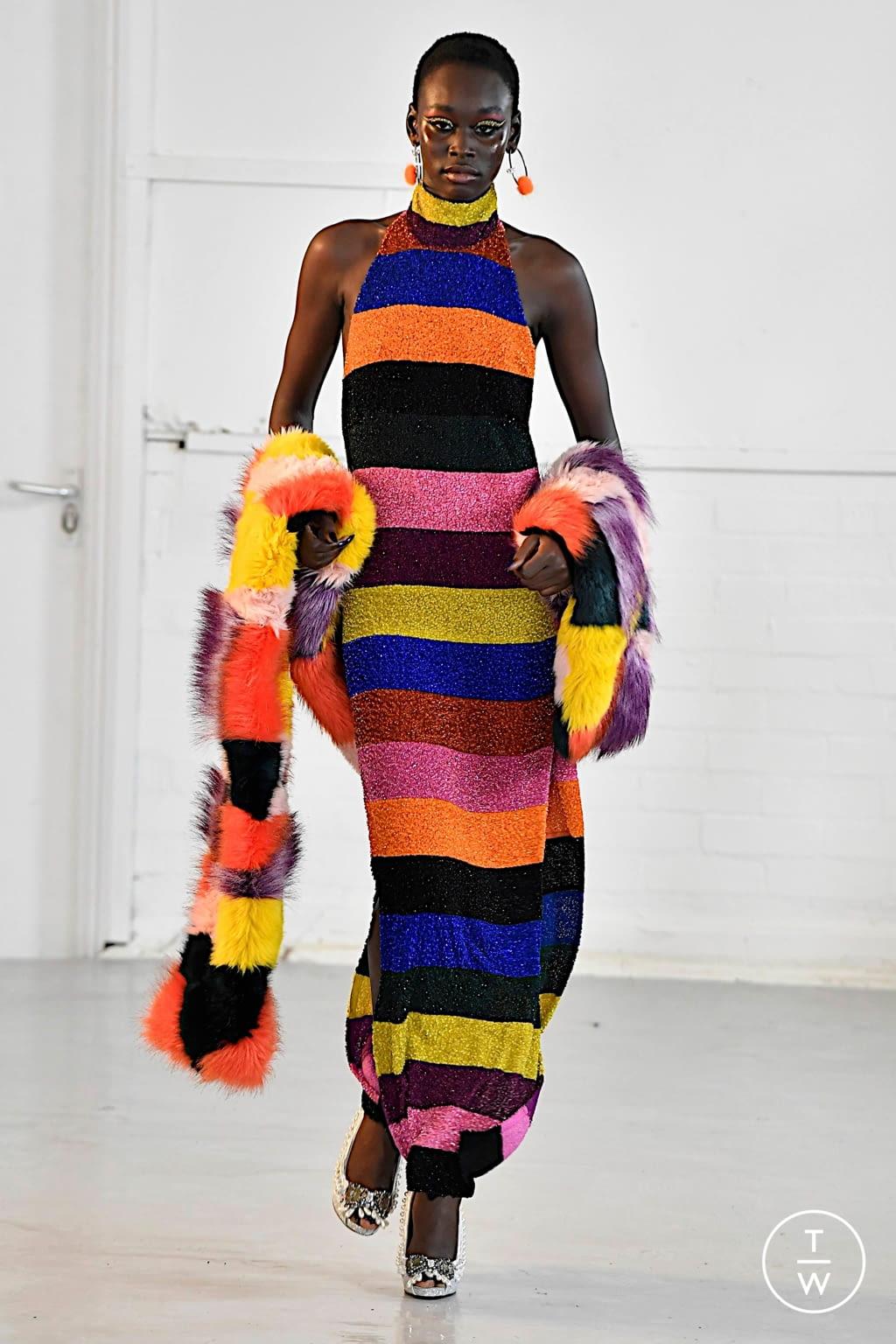 Fashion Week London Fall/Winter 2020 look 5 from the Ashish collection womenswear