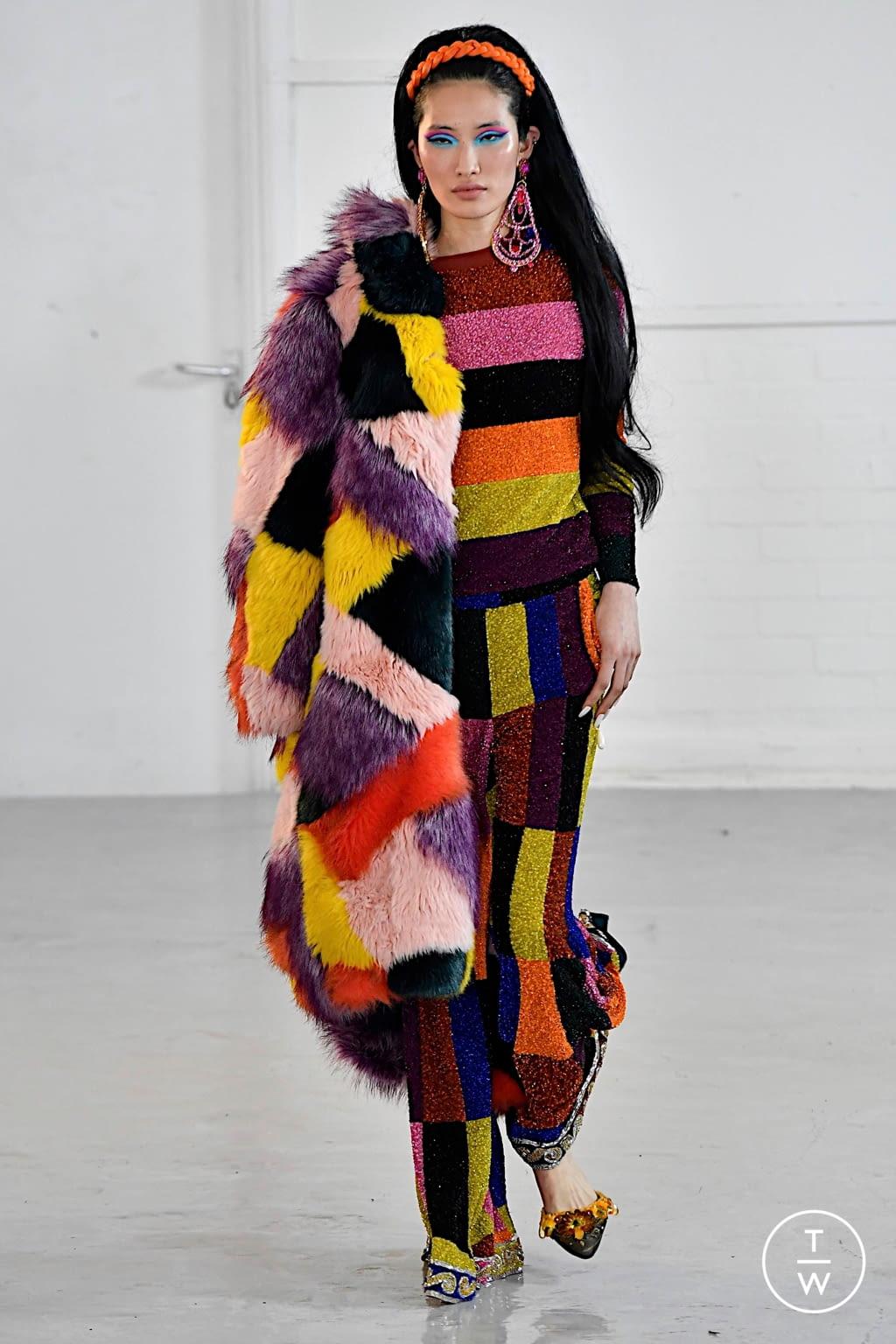 Fashion Week London Fall/Winter 2020 look 9 from the Ashish collection womenswear
