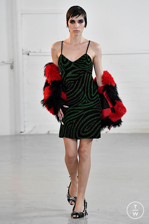 Fashion Week London Fall/Winter 2020 look 16 from the Ashish collection womenswear