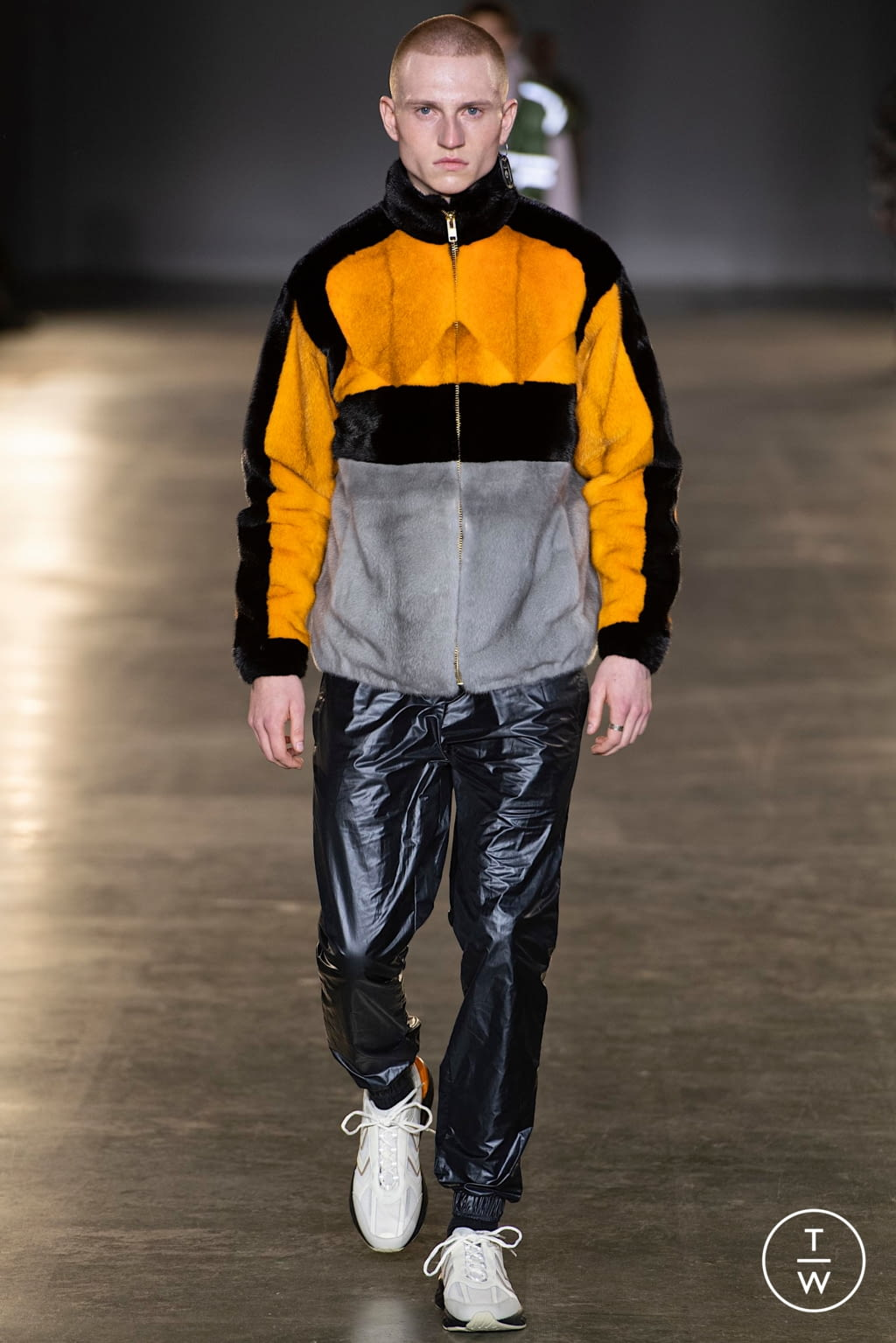 Fashion Week London Fall/Winter 2020 look 14 from the Astrid Andersen collection menswear