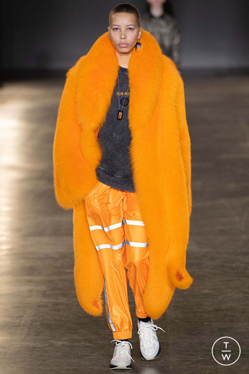 Fashion Week London Fall/Winter 2020 look 17 from the Astrid Andersen collection menswear