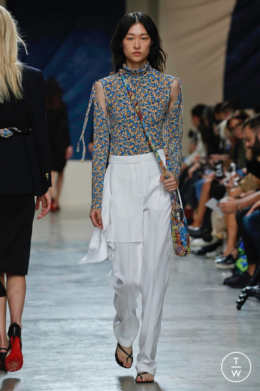 Fashion Week Paris Spring/Summer 2020 look 4 from the Atlein collection womenswear