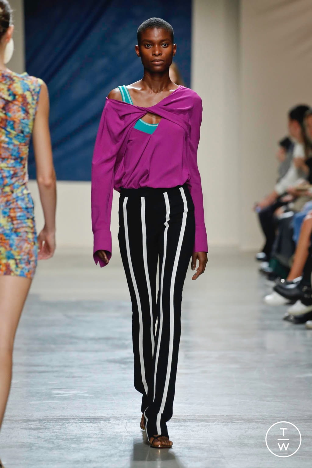 Fashion Week Paris Spring/Summer 2020 look 10 from the Atlein collection womenswear