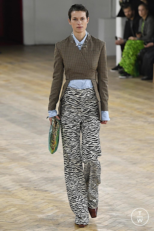 Fashion Week London Fall/Winter 2020 look 44 de la collection A.W.A.K.E MODE womenswear
