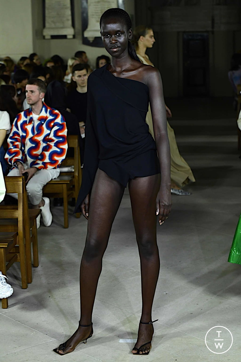 Fashion Week London Spring/Summer 2020 look 8 from the A.W.A.K.E MODE collection womenswear