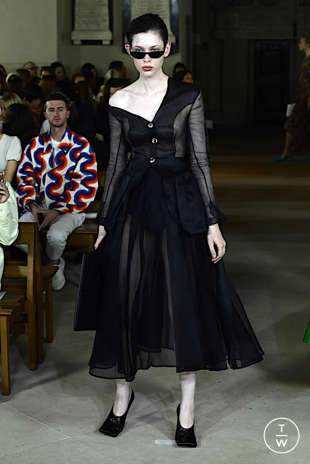 Fashion Week London Spring/Summer 2020 look 32 from the A.W.A.K.E MODE collection womenswear