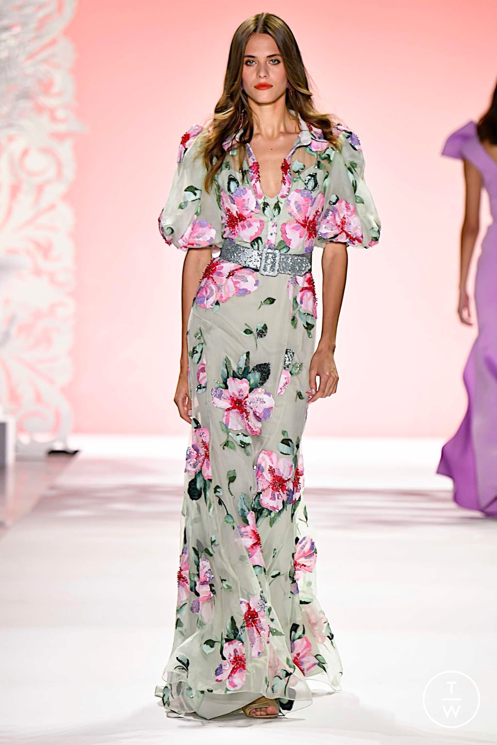 Fashion Week New York Spring/Summer 2020 look 18 de la collection Badgley Mischka womenswear