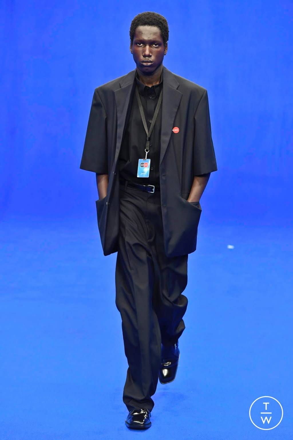 Fashion Week Paris Spring/Summer 2020 look 4 from the Balenciaga collection menswear