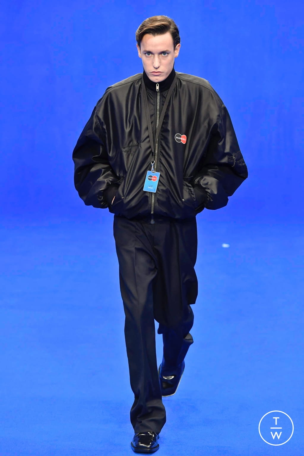 Fashion Week Paris Spring/Summer 2020 look 8 from the Balenciaga collection menswear