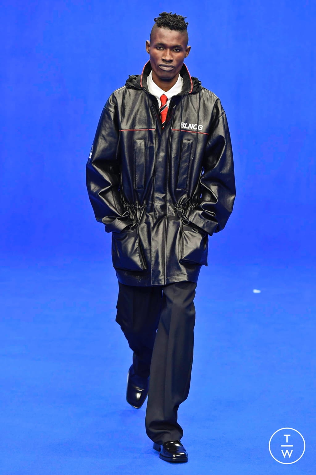 Fashion Week Paris Spring/Summer 2020 look 10 from the Balenciaga collection menswear