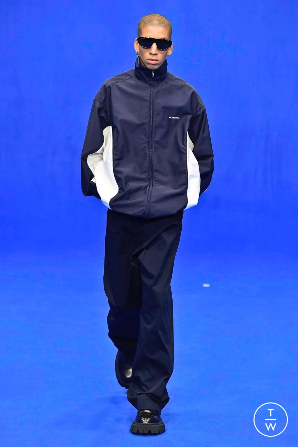 Fashion Week Paris Spring/Summer 2020 look 38 from the Balenciaga collection menswear