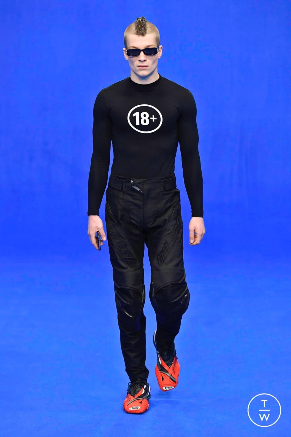 Fashion Week Paris Spring/Summer 2020 look 48 from the Balenciaga collection menswear