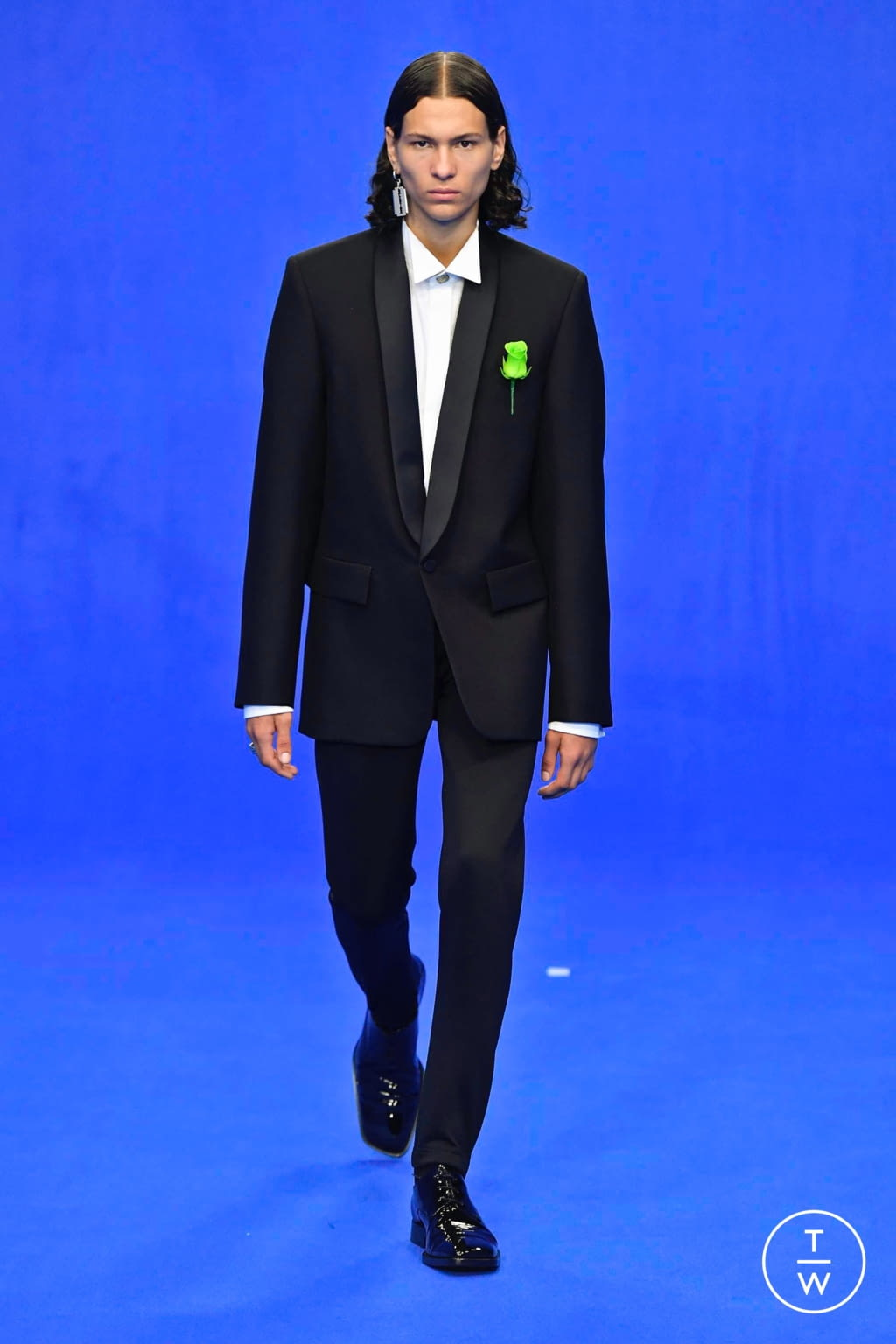 Fashion Week Paris Spring/Summer 2020 look 80 from the Balenciaga collection menswear
