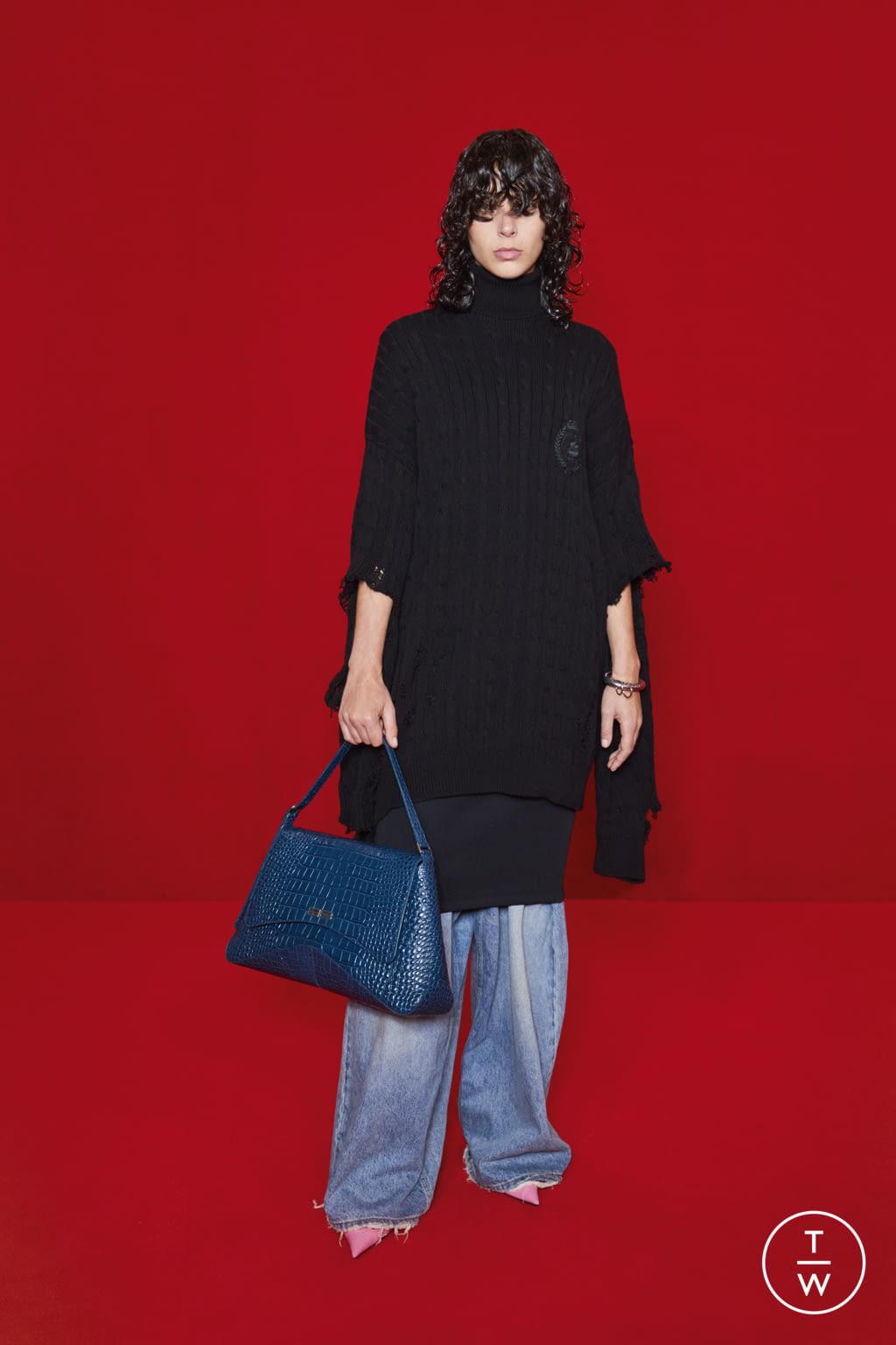Fashion Week Paris Spring/Summer 2022 look 37 from the Balenciaga collection womenswear