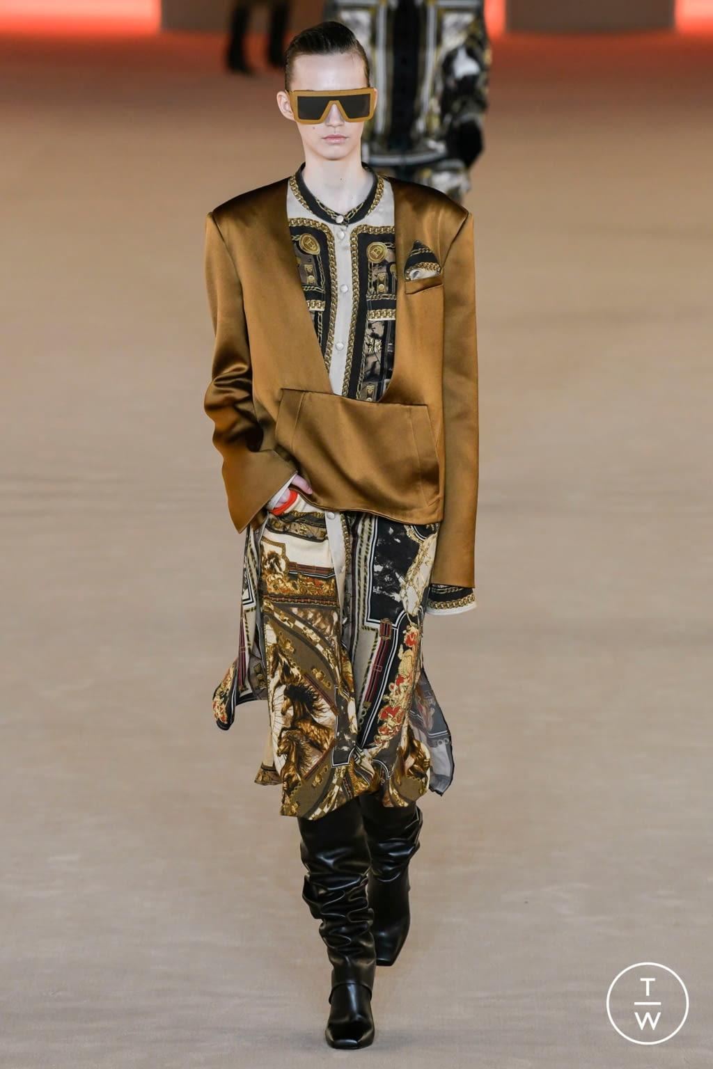 Fashion Week Paris Fall/Winter 2020 look 20 from the Balmain collection womenswear