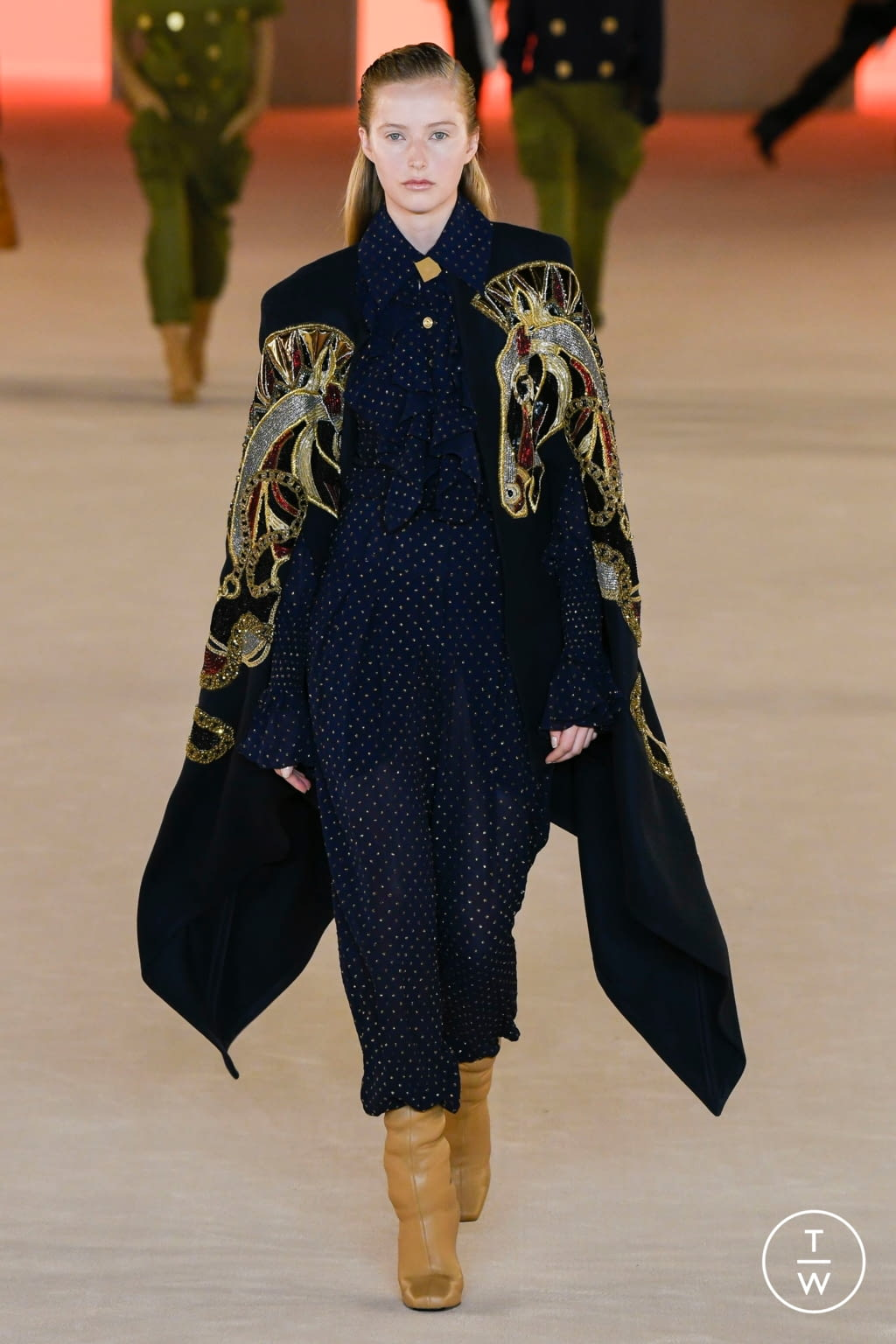 Fashion Week Paris Fall/Winter 2020 look 39 de la collection Balmain womenswear