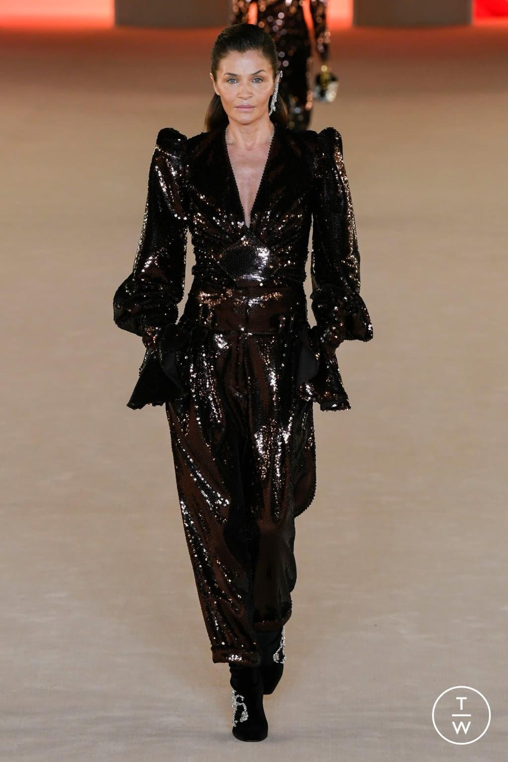Fashion Week Paris Fall/Winter 2020 look 63 from the Balmain collection womenswear