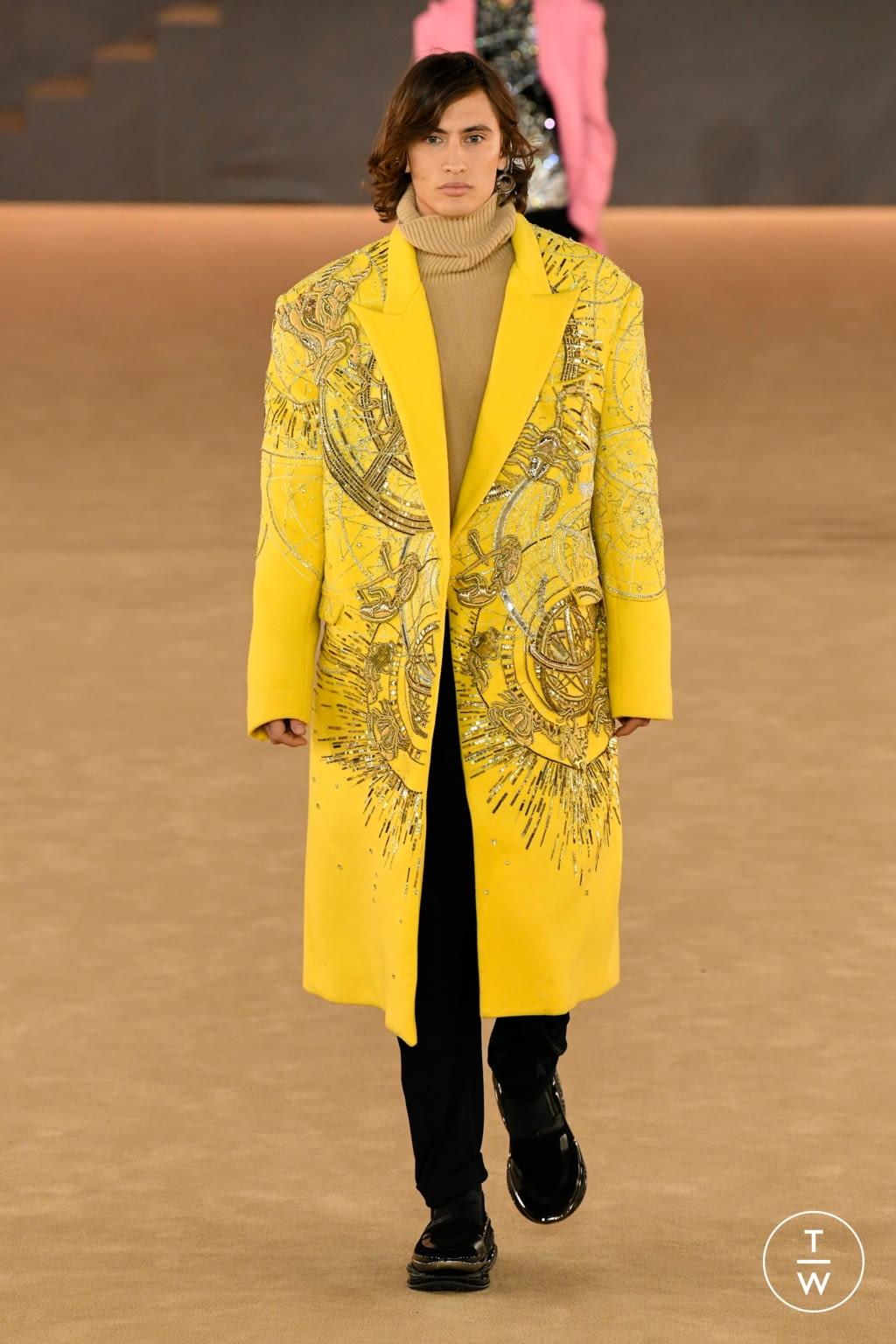 Fashion Week Paris Fall/Winter 2020 look 41 from the Balmain collection 男装