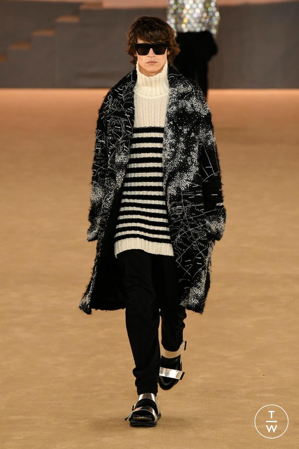 Fashion Week Paris Fall/Winter 2020 look 48 from the Balmain collection menswear
