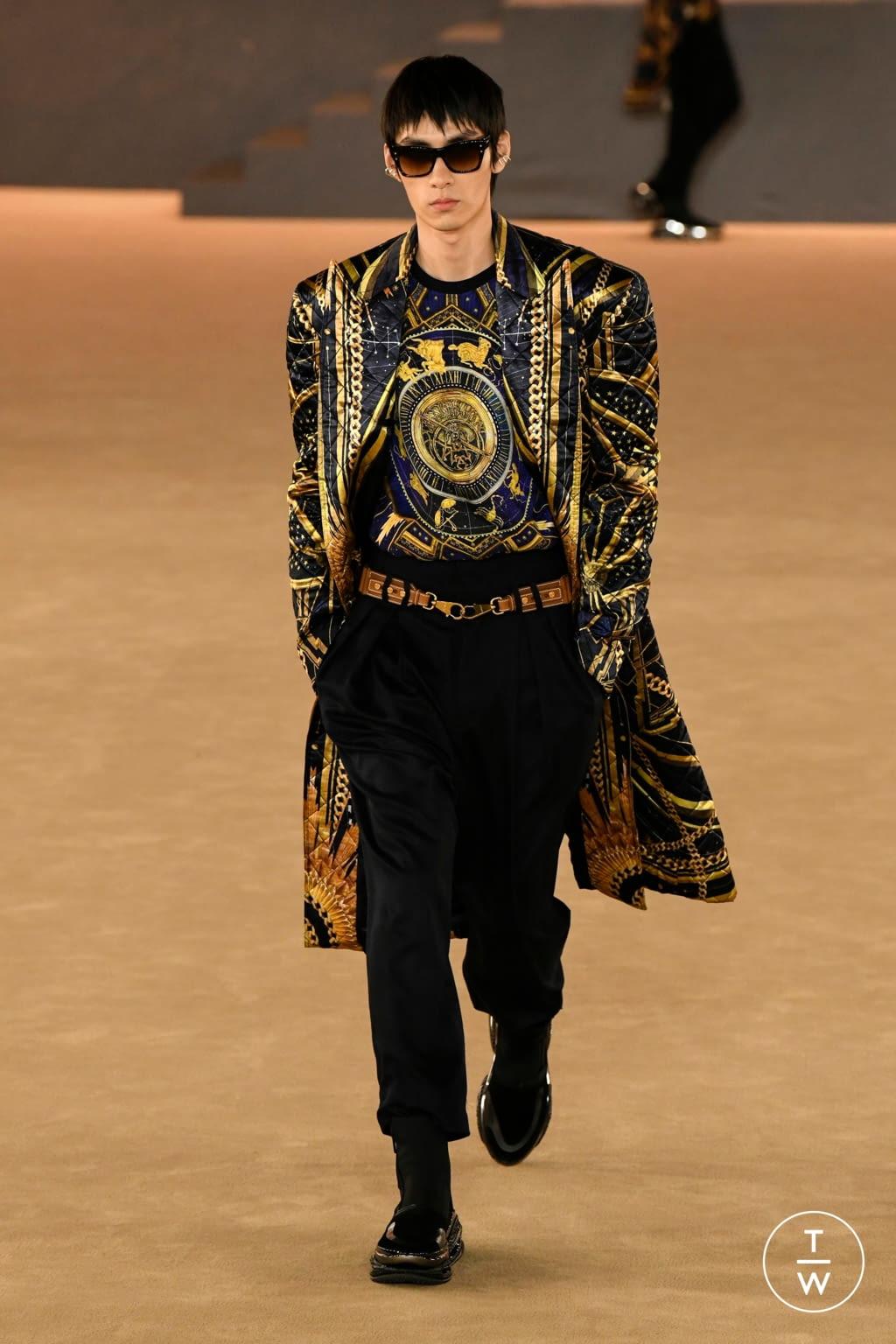 Fashion Week Paris Fall/Winter 2020 look 58 from the Balmain collection menswear