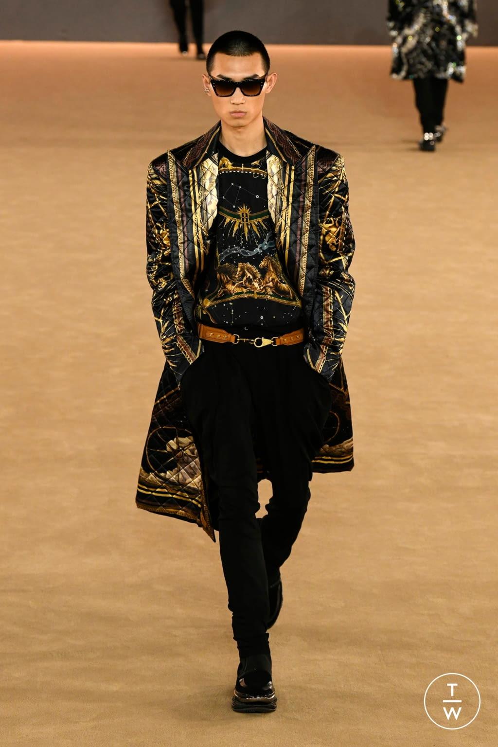 Fashion Week Paris Fall/Winter 2020 look 59 from the Balmain collection menswear