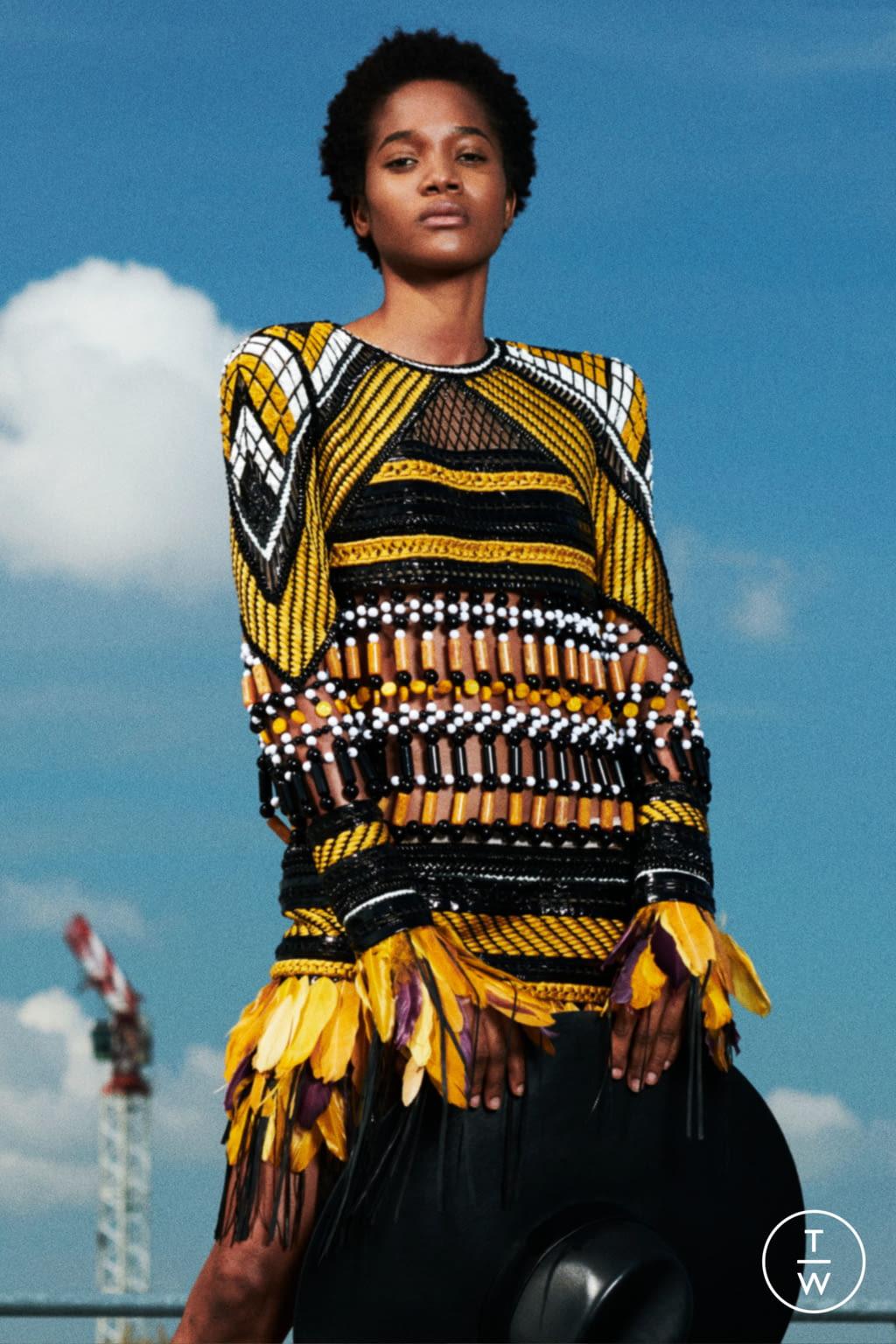Fashion Week Paris Resort 2020 look 15 de la collection Balmain womenswear