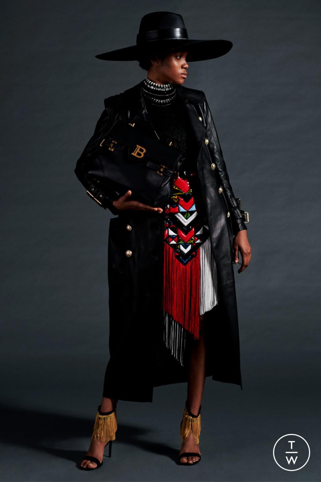 Fashion Week Paris Resort 2020 look 58 de la collection Balmain womenswear