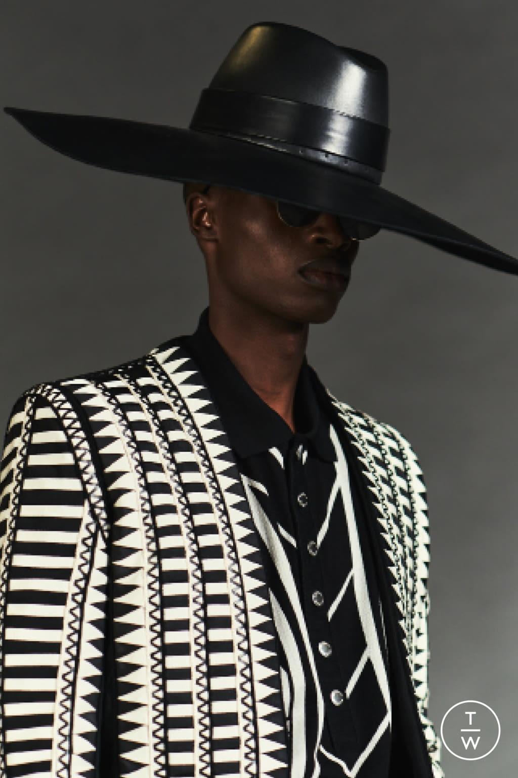 Fashion Week Paris Resort 2020 look 63 from the Balmain collection womenswear