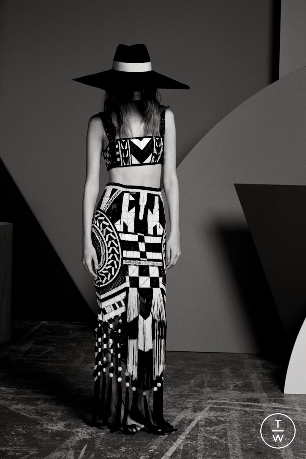 Fashion Week Paris Resort 2020 look 78 from the Balmain collection womenswear