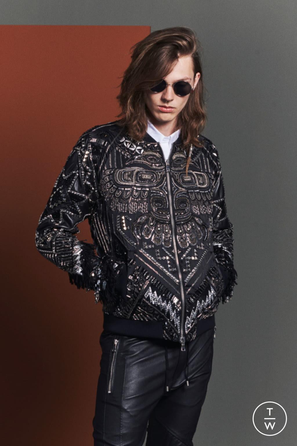 Fashion Week Paris Resort 2020 look 93 de la collection Balmain womenswear